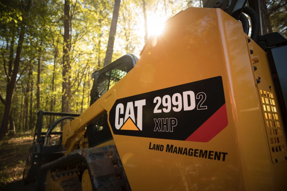 Cat 299D2 XHP Land Management Compact Track Loader