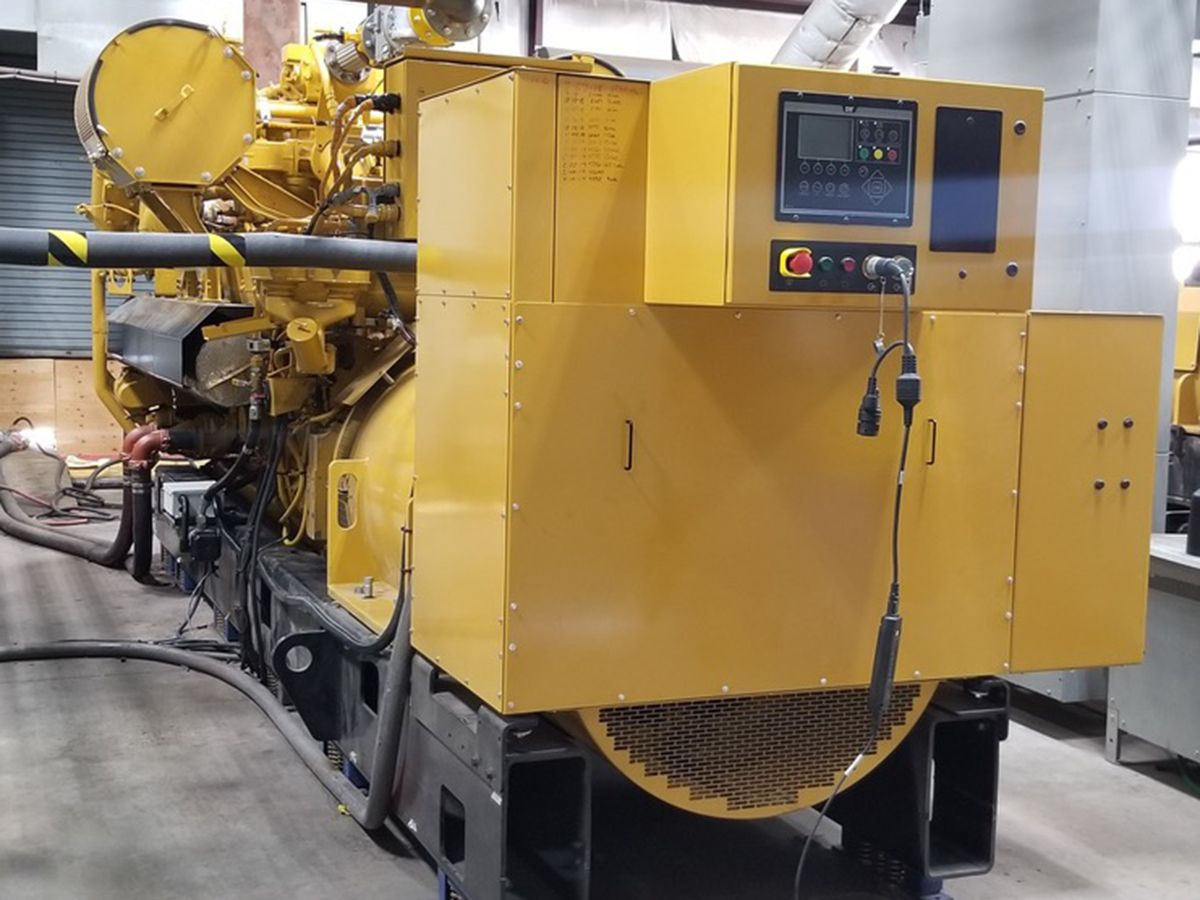 Their latest generator set is the G3520, which is the first ever US EPA Certified natural gas generator set at 2 and 2.5 MW power output.