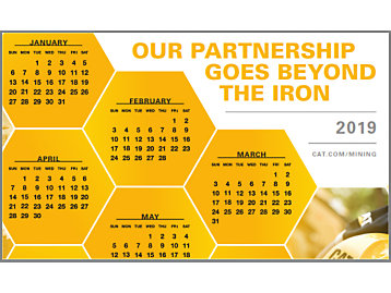 Caterpillar Global Mining Calendar