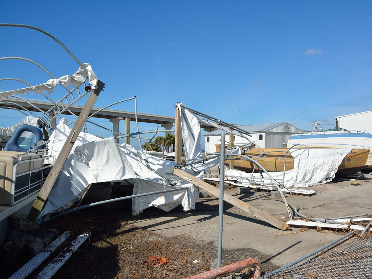 When Hurricane Michael battered the coastal region that includes Port St. Joe, Florida in October, not only did it knock out power, but sustained winds that reached 155 mph wreaked havoc with Raffield's onsite backup generator set.