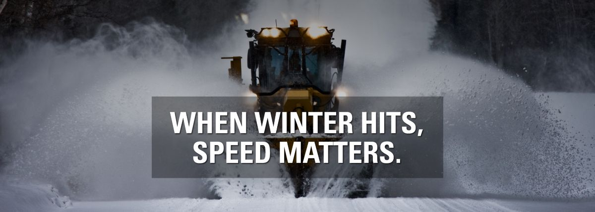 Snow Removal - When Winter Hits, Speed Matters.