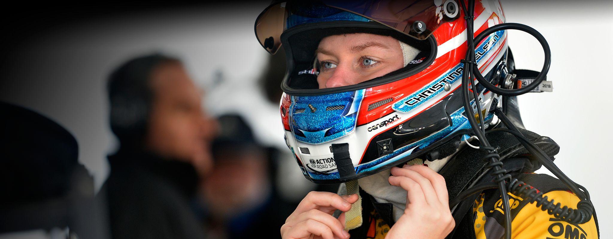 Christina Heinrich racing