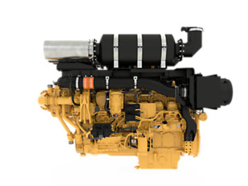 Meet the Cat 3512E with Dynamic Gas Blending