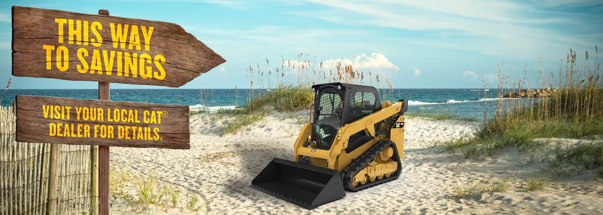 This Way To Savings. Visit Your Local Cat Dealer For Details.