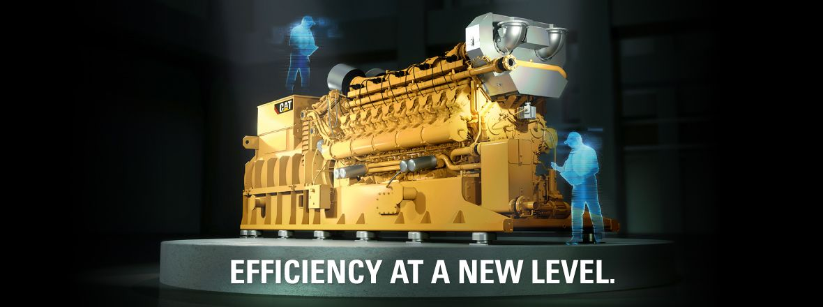 New Gas Generator Sets - Efficiency At A New Level.