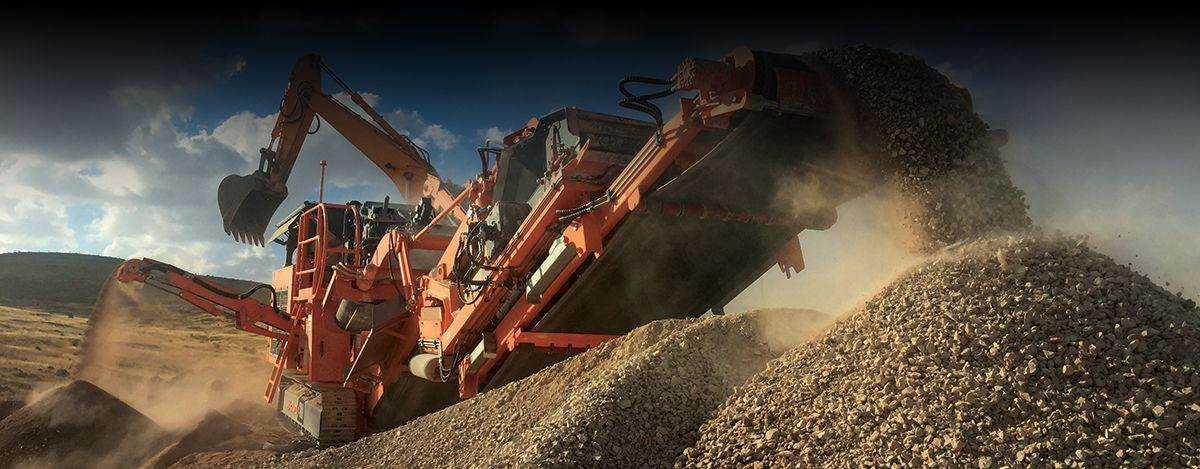 KORMANN ROCKSTER RECYCLER GMBH - Crushing big projects
