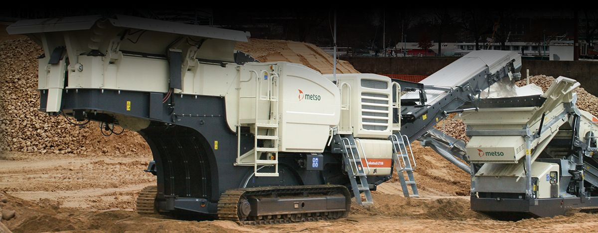 METSO CORPORATION - Powerful mobile crushing plant