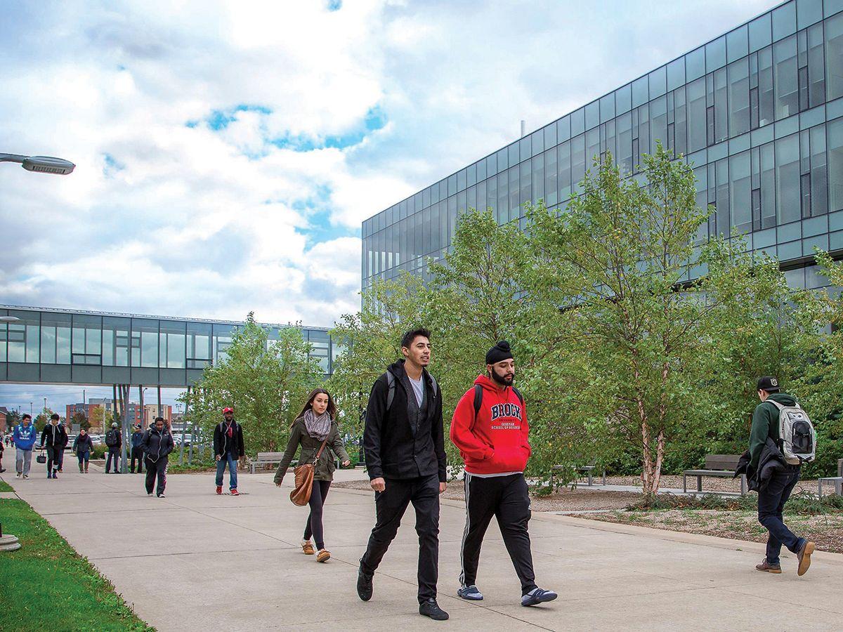 Brock University is located in a UNESCO Biosphere Reserve.