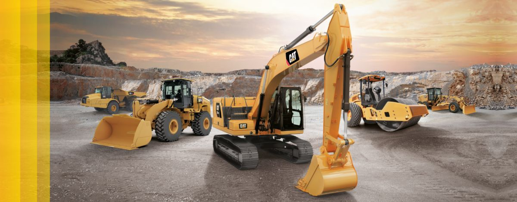 new cat gc range
