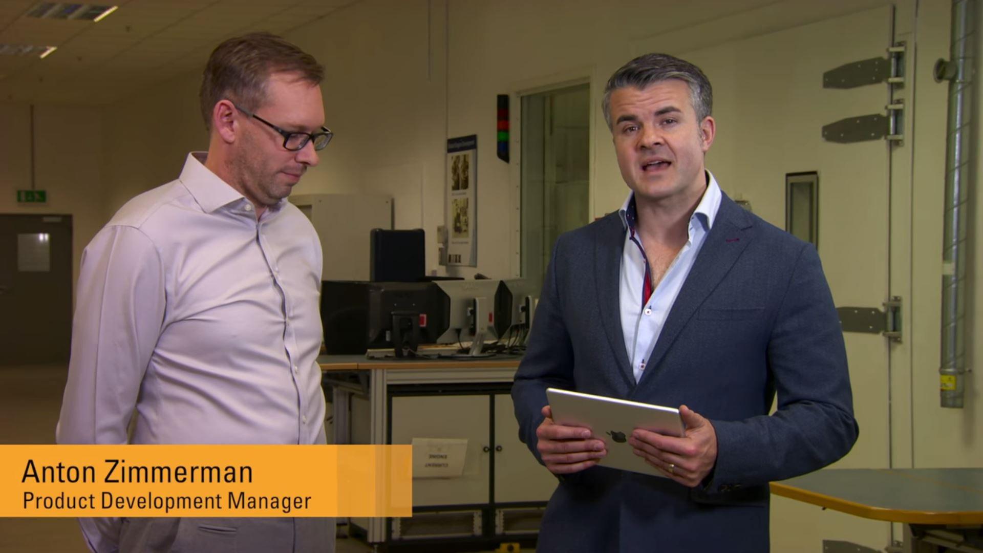 James Gardiner, Caterpillar applications engineering manager