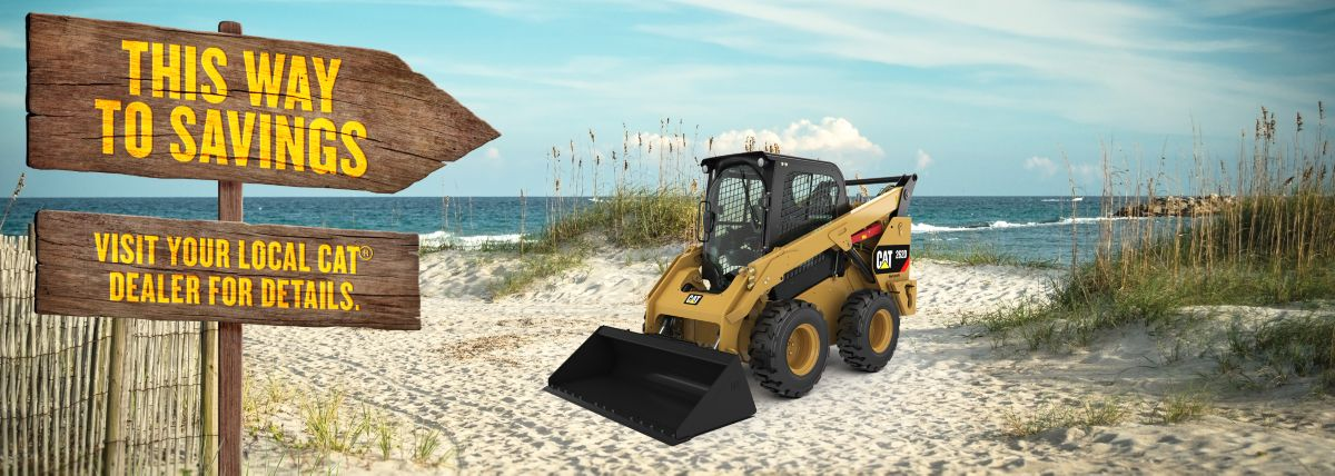 Skid Steer Loader - Special Offer - This Way To Savings