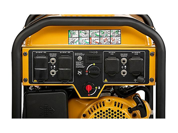 RP6500 E Control Panel