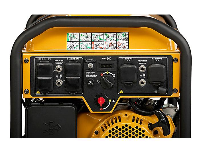 RP8000 E Control Panel