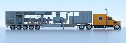 Mobile Power Solar Turbines