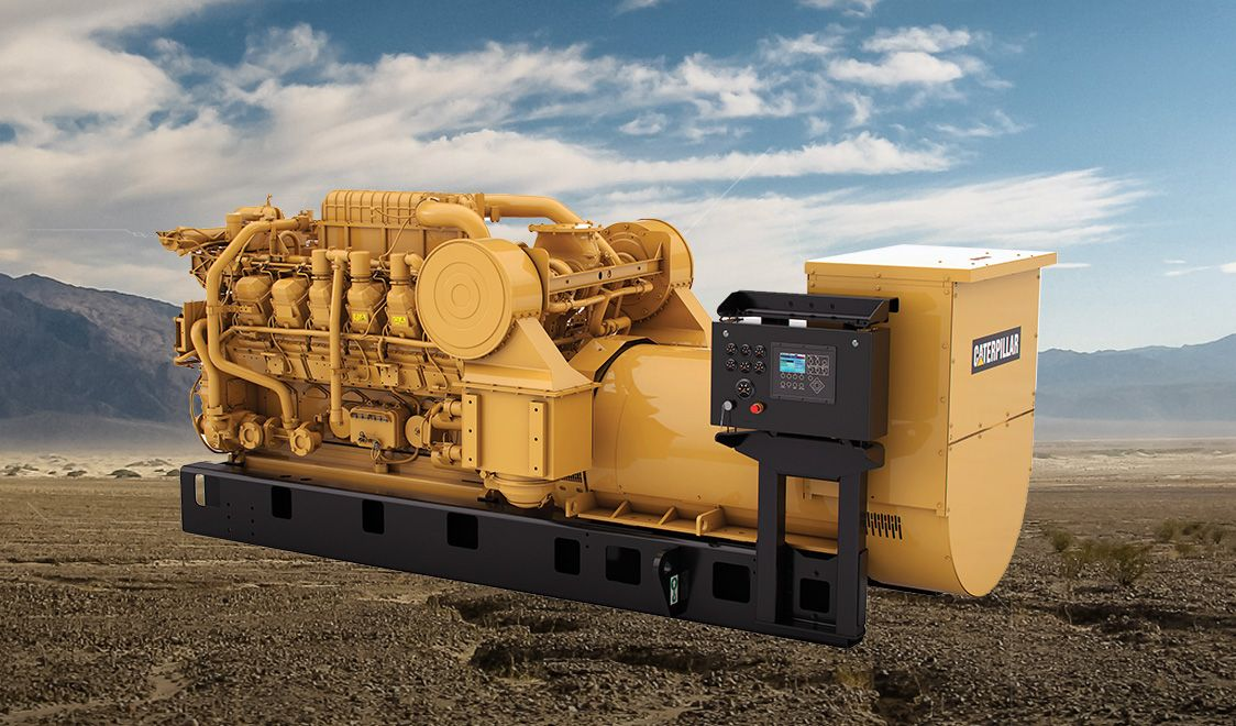 3512C Dynamic Gas Blending Engine