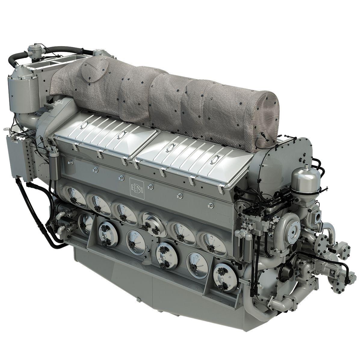 EMD® 710 Engine