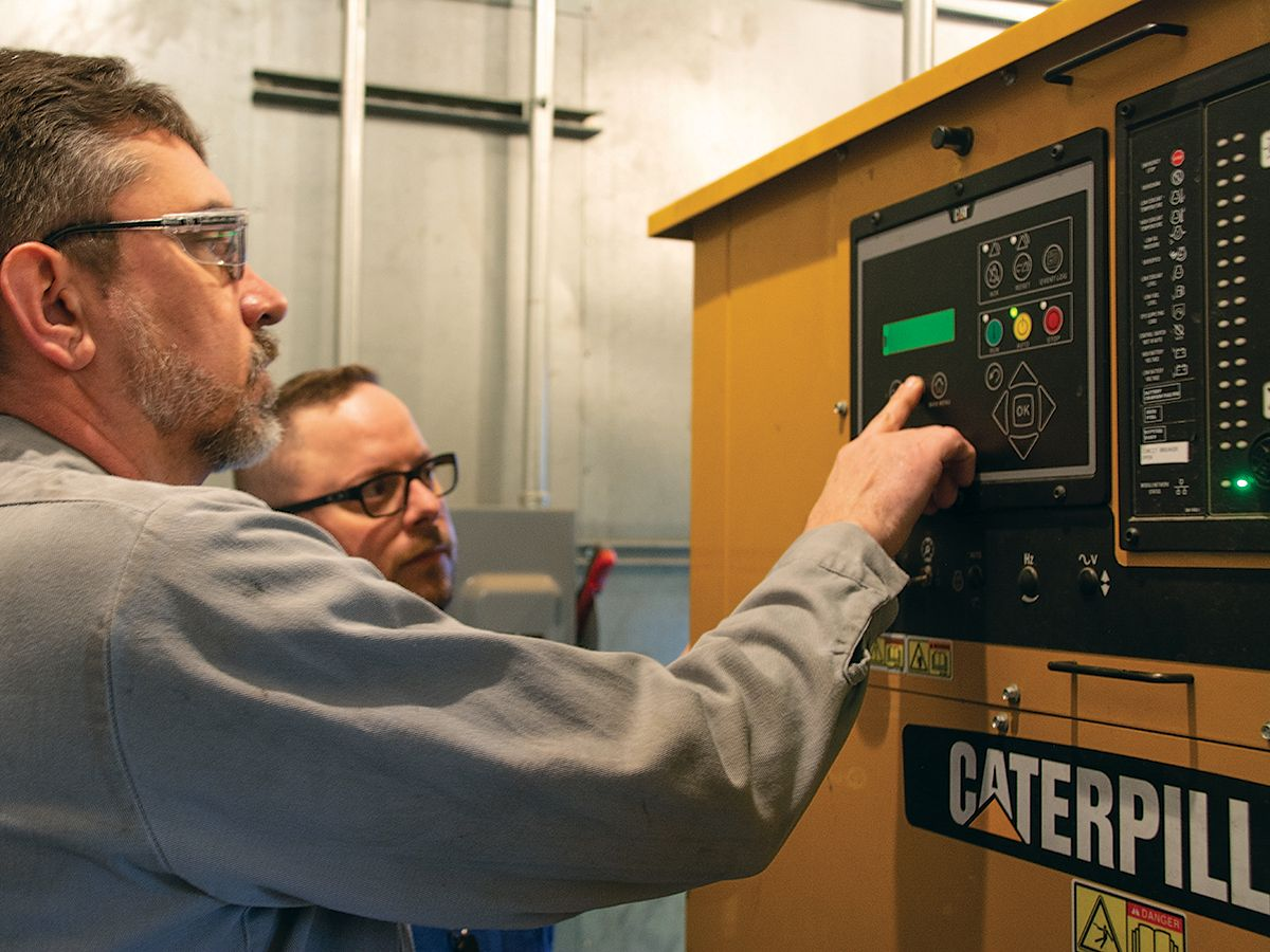 Cat® dealer Foley Power Solutions provides ongoing support and maintenance of TierPoint's standby power system.