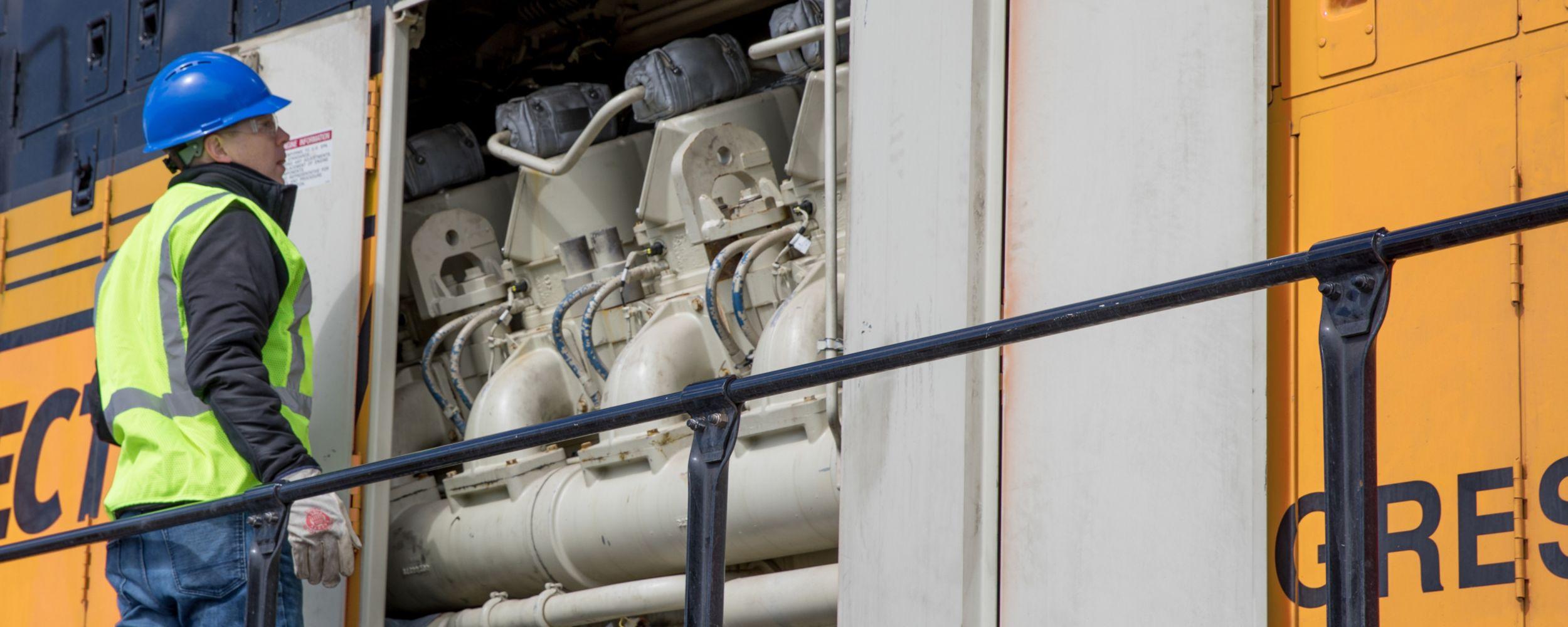Locomotive Services - leasing, maintenance, customer performance, remanufacturing, engine overhauls