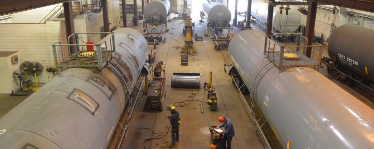 freight and tank car repair
