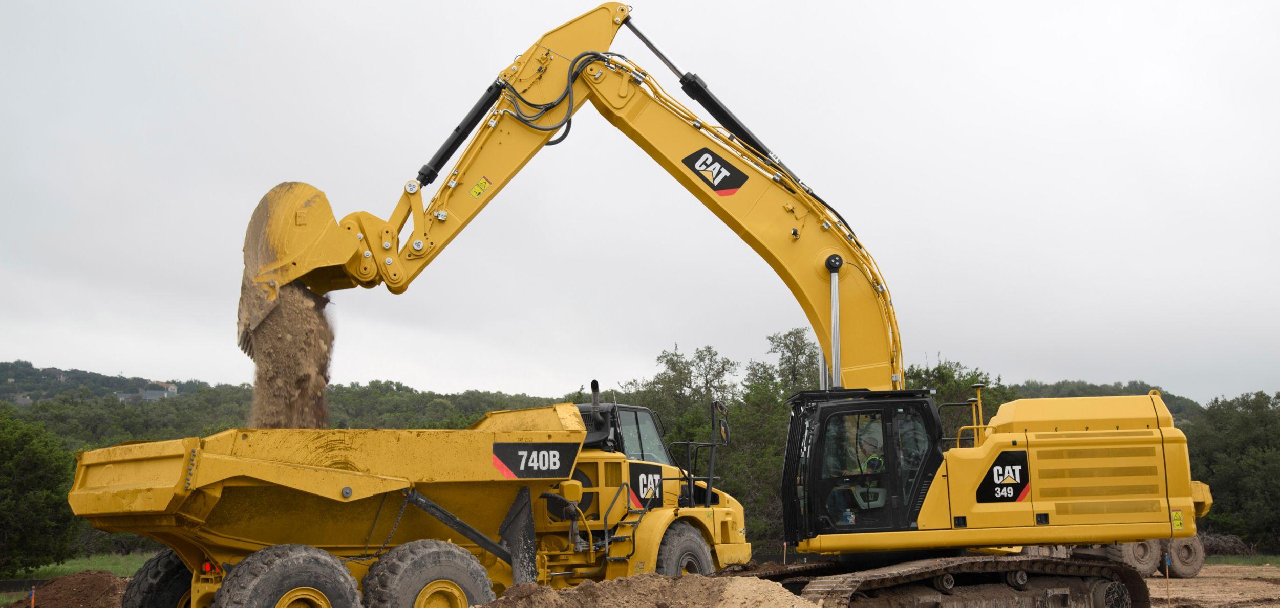 Cat® Excavators Deliver Increased Efficiency, Lower Operating Costs