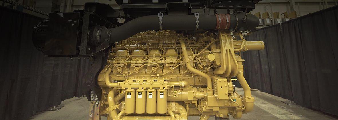 Cat 3512E Dynamic Gas Blending Engine