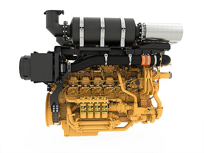 3512E Dynamic Gas Blending ATAAC Petroleum Engine Well Servicing Engines