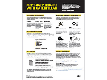 Cooperative Purchasing With Caterpillar