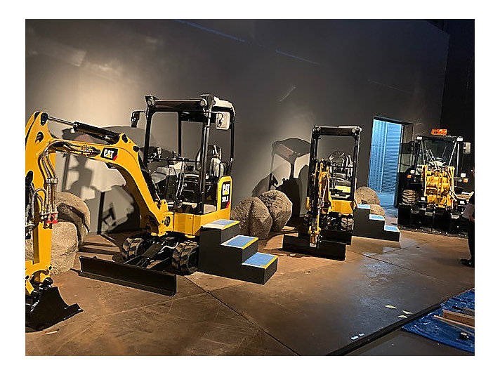 The Working Vehicle and Frontier Exhibition showcased Caterpillar and showed how exciting our machines can be to the local community!