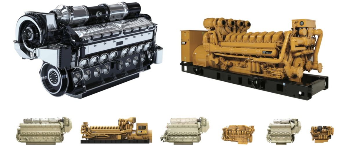 EMD® & CAT® ENGINES