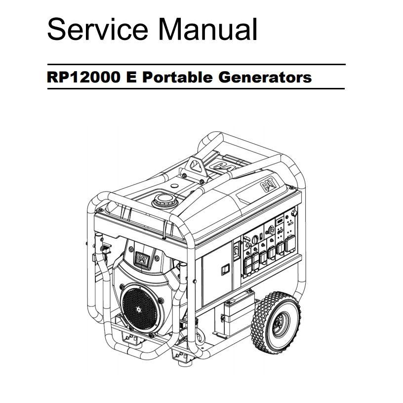 RP12000 E Service Manual