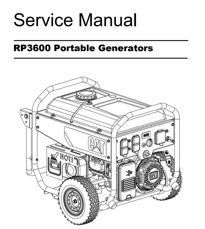 RP3600 Service Manual