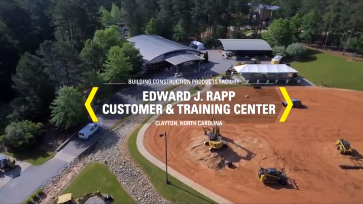 Caterpillar Chief Financial Officer Andrew Bonfield goes beyond the numbers in his visit to the Edward J. Rapp Customer & Training Center in Clayton, North Carolina.