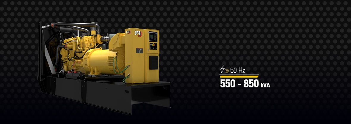 Cat® C18 generator set