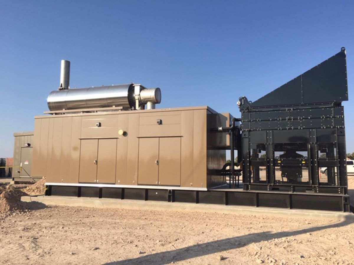 Caterpillar Powers 3.2 MW Natural Gas Power Plant at McEwen Gold Bar Mine