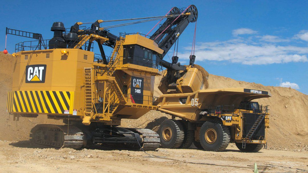 Cat 7495 ERS Operator Assist - Enhanced Motion Control
