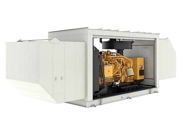 G3512 Gas Generator Set, Enclosure (open)