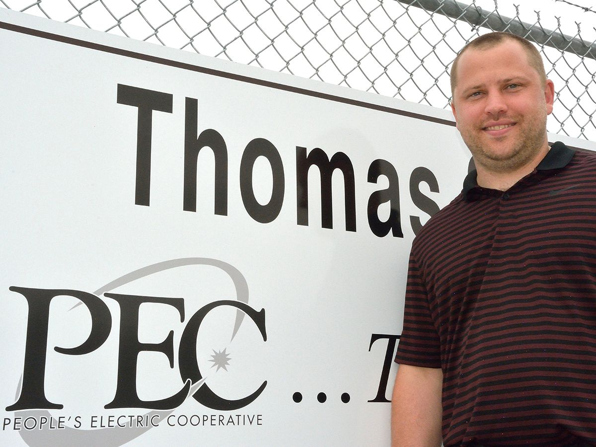 """We are always striving to keep our rates low, and this was something that we set out to do many years ago when we joined the SPP and started to buy power from the market. It gives us a lot of flexibility in the fact that we can control what we do with our own generation,"" says Russ Brown, a senior generation engineer for PEC."