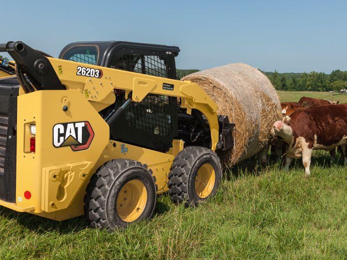 Skid Steers and Track Loaders vs. Tractors