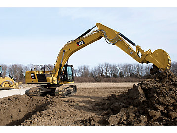 Cat GRADE with Advanced 2D for Excavators
