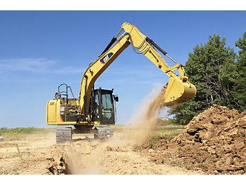 Cat Grade with Depth & Slope for Excavators