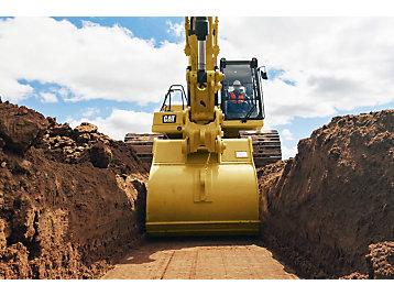 Cat GRADE with 2D for Excavators
