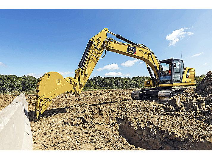 Cat E-fence for Excavators