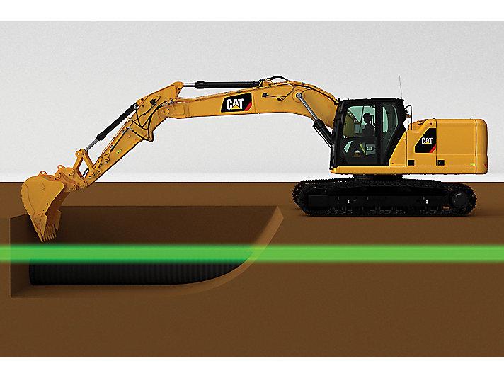 Cat 2D E-Fence for Excavators