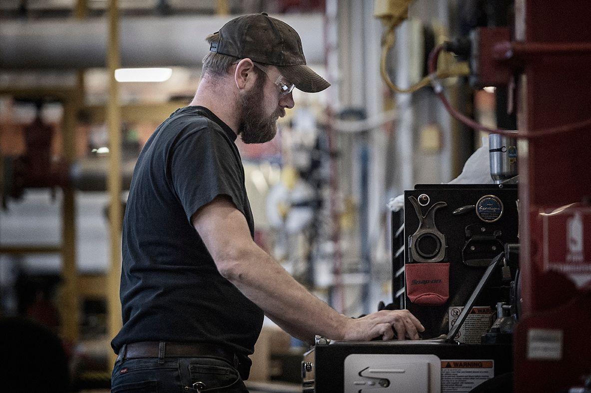 manufacturing employee