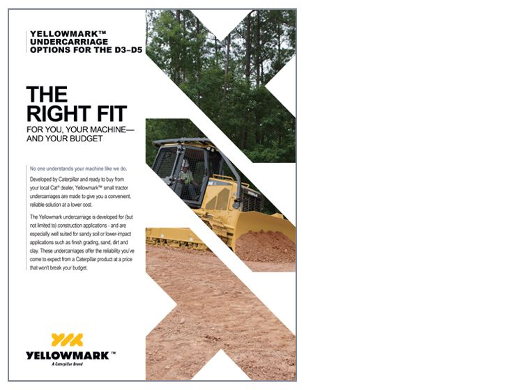 yellowmark undercarriage sales sheet