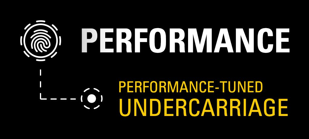 Performance - Performance-Tuned Undercarriage