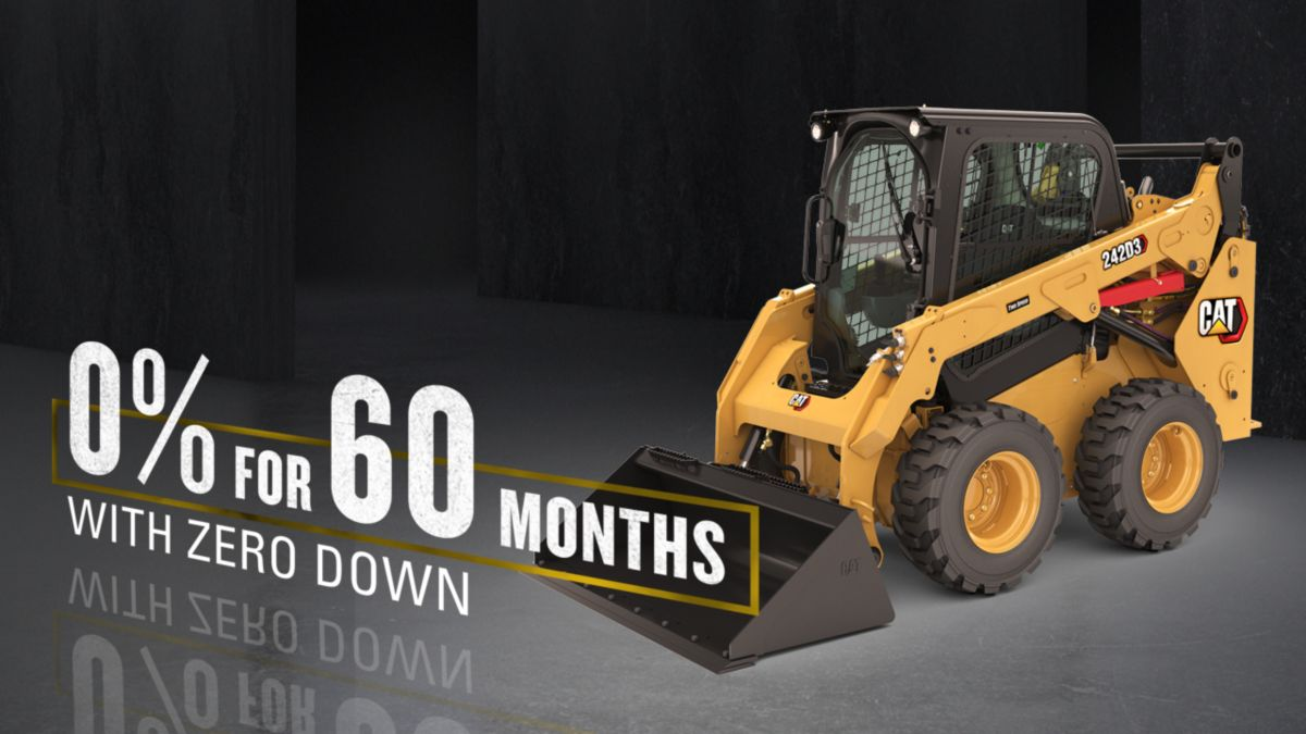 Specials, Offers and Promotions on the D3 Series Compact Track Loaders & Skid Steer Loaders.