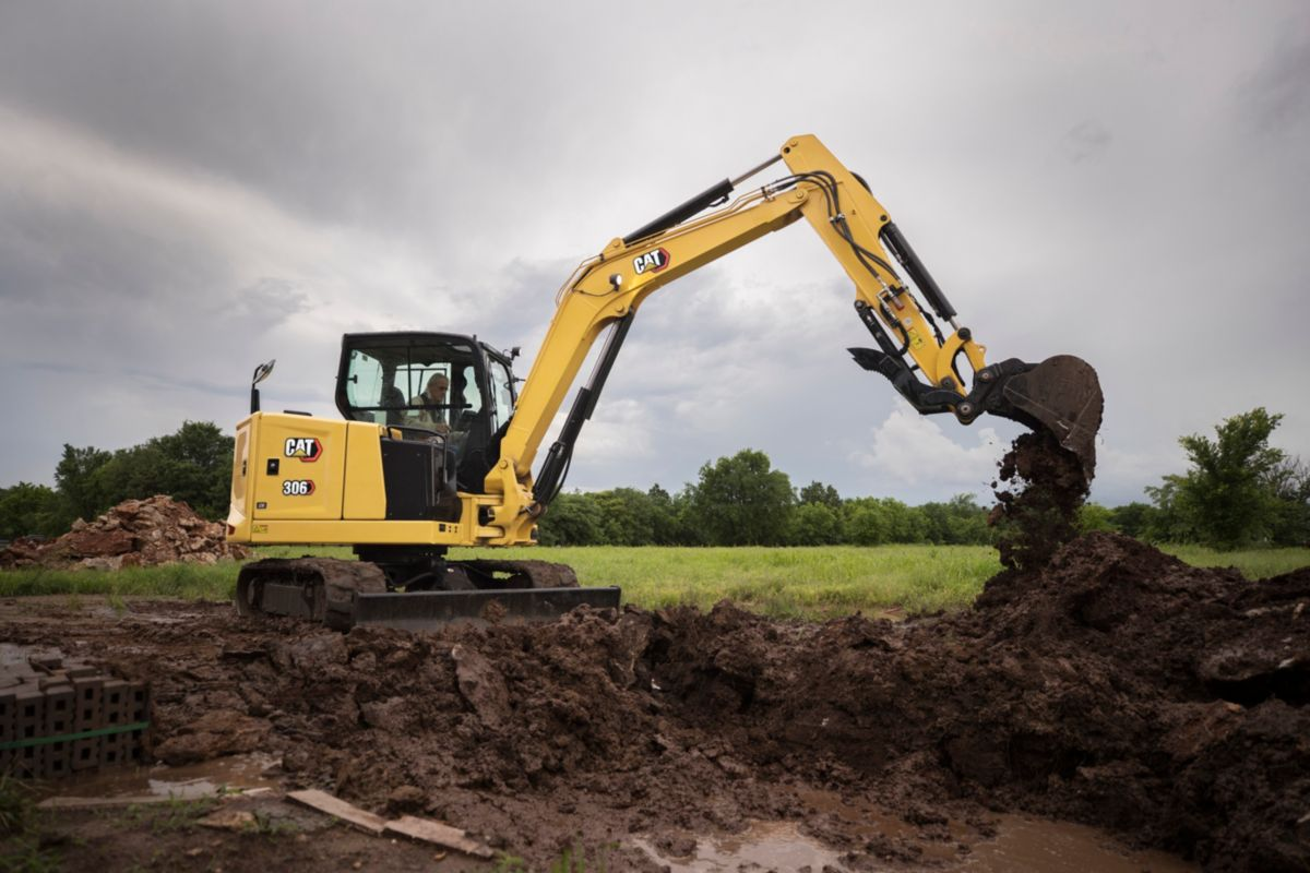 Cat 306 CR Mini Excavator