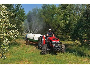 Hattat tractor working shot
