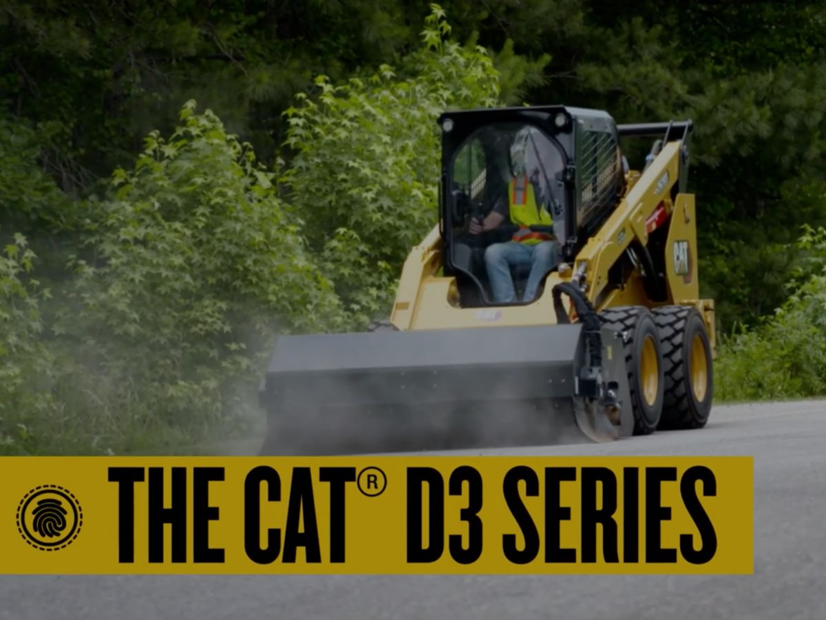 Experience the features of the new Cat D3 Series Skid Steer Loaders and Compact Track Loaders.